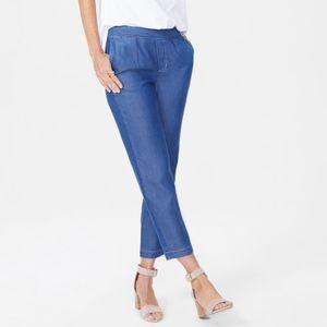 NYDJ Slim Ankle Pull-On Drawstring Pants Size 6